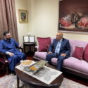 The Prelate Welcomed the Consul General of Armenia in Los Angeles H.E. Dr. Armen Baibourtian