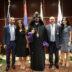 Տէր Եւ Տիկին Կարօ  Էշկիեանի  Շնորհուեցաւ  «Կիլիկեան  Իշխան»  Շքանշան – Մեծարեալ  Ամոլը  100,000  Տոլար  Նուիրեց  Ազգ.  Առաջնորդարանին