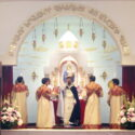 Episcopal Divine Liturgy at St. Sarkis Church in Pasadena on the Feast of the Transfiguration of Our Lord Jesus Christ