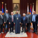 Pastors of the Armenian Evangelical, Nazarene and Brotherhood Churches in Pasadena Visited the Western Prelacy