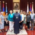 Prelate Welcomed Representatives of the Armenian Bone Marrow Donor Registry