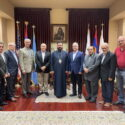Representatives of the Armenian Democratic Liberal Party Visit the Western Prelacy
